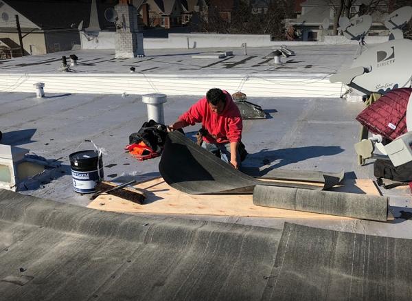 commercial roof leak repair, replacement,